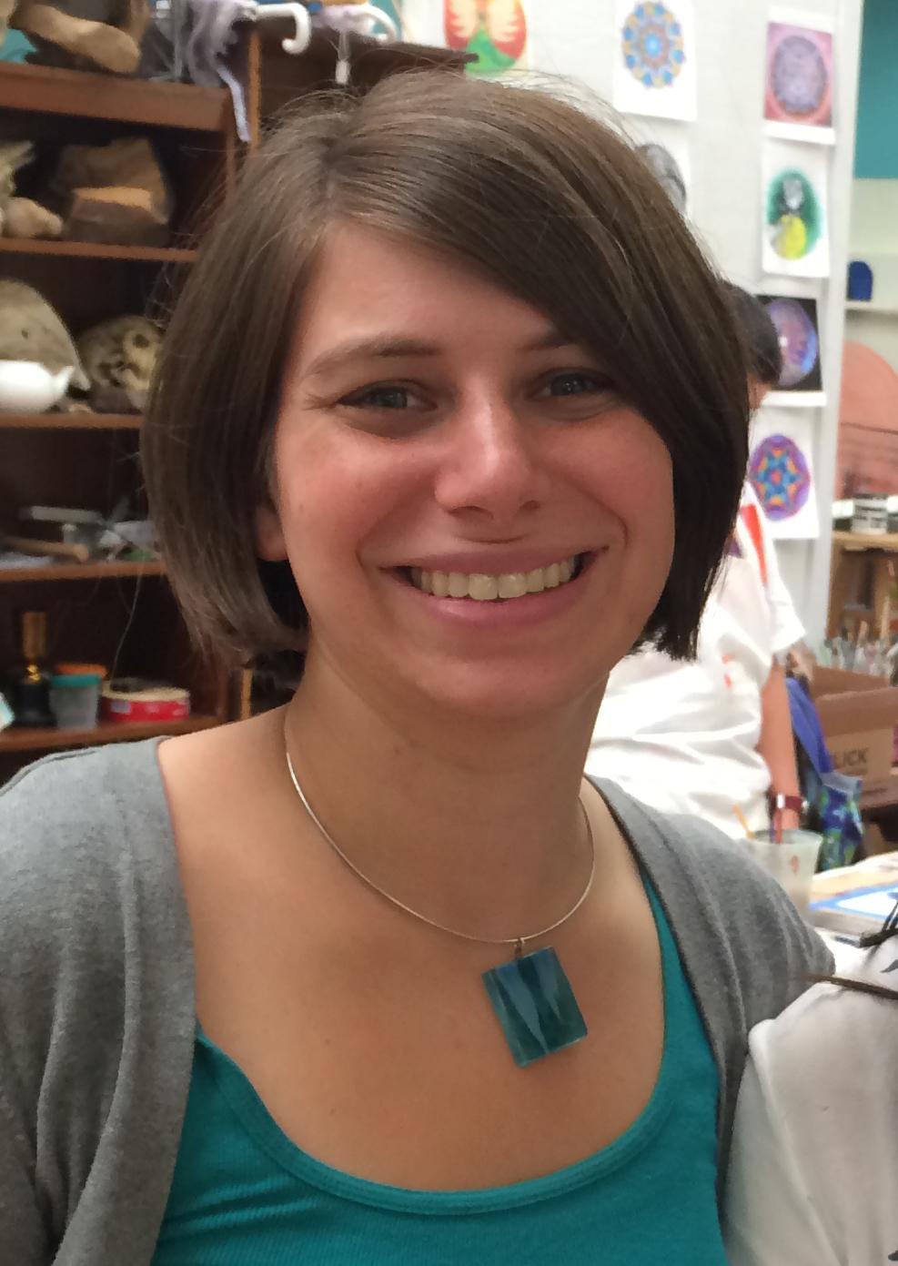 Rachel - color head shot